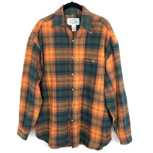 Alaska Wilderness Gear Plaid Button Down Shirt